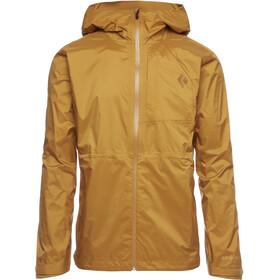 Black Diamond TreeLine Rain Shell Jacket Men, amber